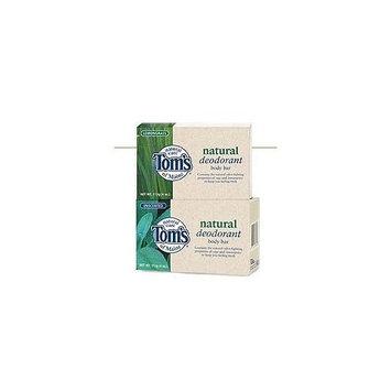Toms Of Maine TOM'S OF MAINE, Body Bar Deodorant Lemongrass - 4 oz