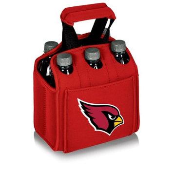 Nfl - Arizona Cardinals Picnic Time NFL Arizona Cardinals Six Pack Digital Print Insulated Holder