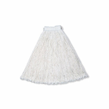 Rubbermaid Commercial Products 32 Oz Economy Cotton Mop Heads with 1'' White Headband