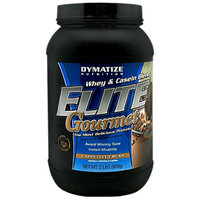 Dymatize Nutrition Elite Gourmet Whey & Casesin Blend Dietary Supplement Powder Cappuccino