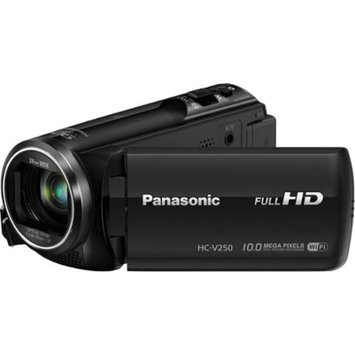 Panasonic HC-V250K HD Wi-Fi Video Camera Camcorder