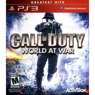 Activision Call of Duty: World at War [Greatest Hits] (PlayStation 3)