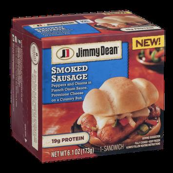 Jimmy Dean Smoked Sausage Sandwich