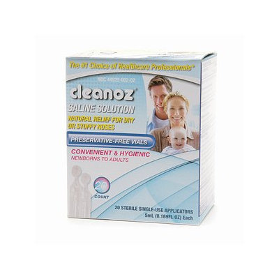 Cleanoz Saline Solution Vials