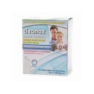 Cleanoz Saline Solution Vials