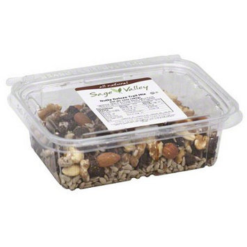 Generic Sage Valley Nutty Deluxe Trail Mix, 10 oz (Pack of 6)