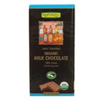 Rapunzel Organic Milk Chocolate Bar 3 oz. (Pack of 12)