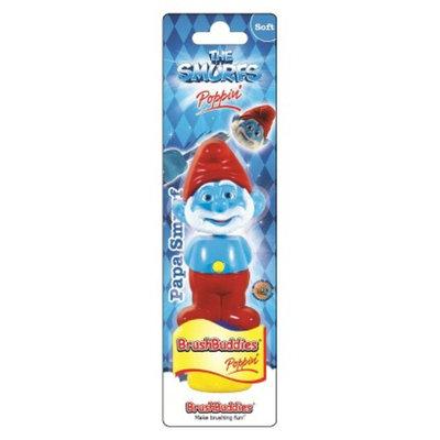 Brush Buddies The Smurfs Poppin Papa Smurf Manual Toothbrush