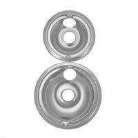 Range Kleen GE Hotpoint Drip Bowls 2-pk. - Chrome