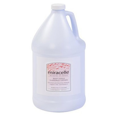 Miracelle Deep Tissue Massage Lotion - 1 Gallon