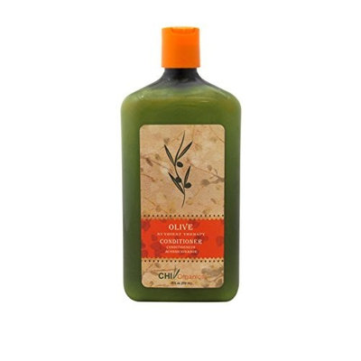CHI Organics Olive Nutrient Therapy Conditioner for Unisex, 25 Ounce