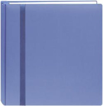 Pioneer Photo Albums Snapload Scrapbook Cloth With Ribbon 12X12-Blue