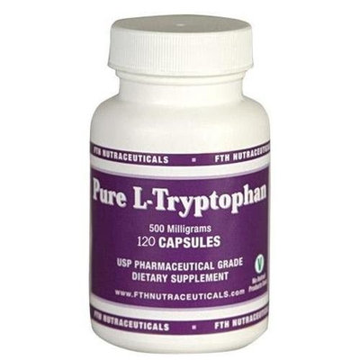FTH Nutraceuticals L-Tryptophan - 500mg 120 Caps