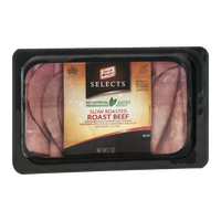 Oscar Mayer Selects Slow Roasted Roast Beef Browned with Caramelized Sugars