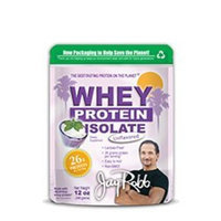 Jay Robb Whey Protein Isolate Unflavored -- 12 oz