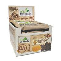 Body Engineering Inc. Raw Crunch Bars - Organic Dark Chocolate - Box of 12 Bars