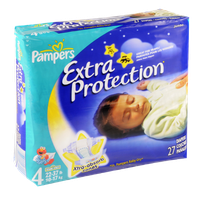 Pampers Extra Protection Diapers Size 4 (22-37 lb) Jumbo Pack