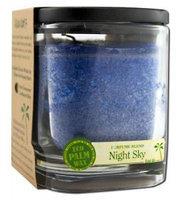 Eco Palm Square Jar, Night Sky Navy Blue 8 oz by Aloha Bay