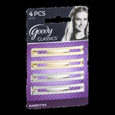 Goody Classics Barrettes - 4 CT