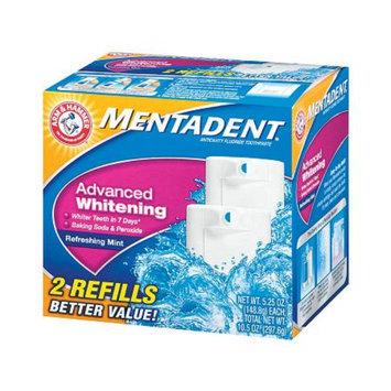 Mentadent Anticavity Fluoride Toothpaste Twin Refills