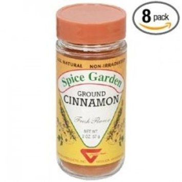 Spice Garden Cinnamon, Ground, 2 oz.