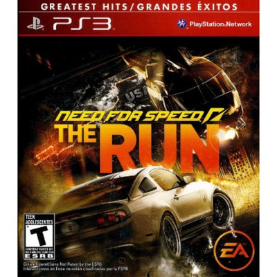 Electronic Arts Need for Speed: The Run (PlayStation 3)