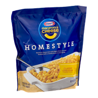 Kraft Homestyle Macaroni & Cheese Dinner Classic Cheddar Cheese