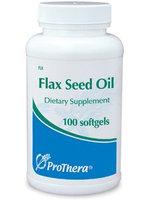 Prothera Flax Seed Oil 1000 mg 100 gels
