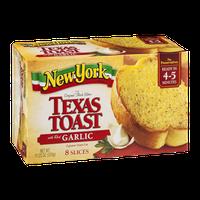 New York Brand Original Thick Slice Texas Toast with Real Garlic - 8 CT