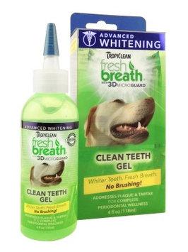 Tropiclean Fresh Breath Advanced Whitening Clean Teeth Gel