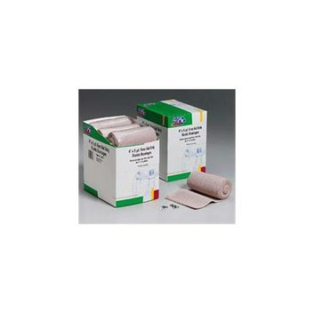 First Aid Only 4 inch x 5 Yd.   Elastic  - Ace  - Bandage with Two Fasteners - 9 Per Dispenser Box