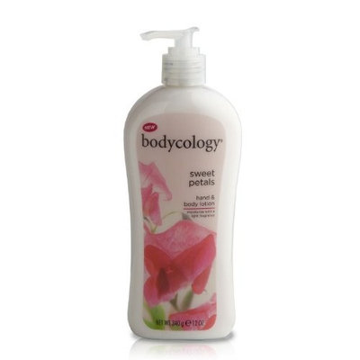 Bodycology Hand and Body Lotion, Sweet Petals, 12-Ounce (Pack of 2)