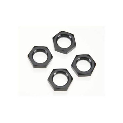 89406 Nyloc Wheel Nuts Black (4)