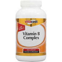 Vitacost Brand Vitacost Vitamin B Complex With Vitamin C -- 300 Capsules