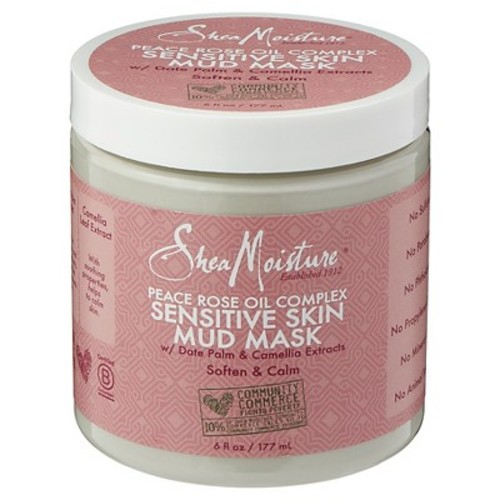 SheaMoisture Peace Rose Oil Complex Sensitive Skin Mud Mask