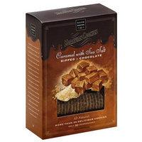 Salem Baking alem Baking Co. Caramel Moravian Cookies with Sea Salt, 8 oz, (Pack of 6)
