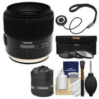 Tamron SP 35mm f/1.8 Di VC USD Lens with 3 UV/CPL/ND8 Filters + Pouch Kit for Canon EOS Digital SLR Cameras