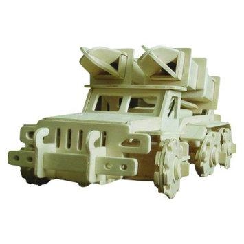Regal Robotime 3D Wooden Robotic Puzzle Missile Transport