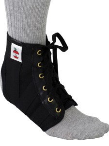 Core Products Lightweight Ankle Support Blk (XS)