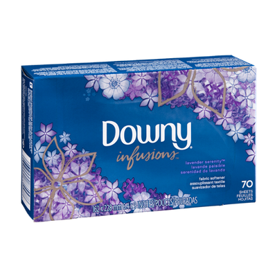 Downy Infusions Fabric Softener Sheets Lavender Serenity - 70 CT