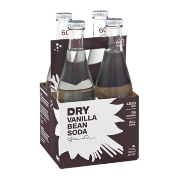 Dry Soda Bottles Vanilla Bean