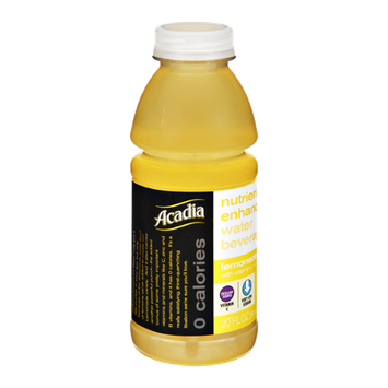 Acadia 0 Calories Lemonade Nutrient Enhanced Water Beverage