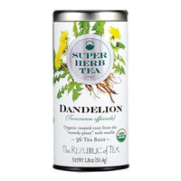 The Republic Of Tea Organic Dandelion Superherb Herbal Tea, 36 Tea Bags, Caffeine-Free, Non-Gmo Verified []