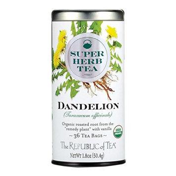 The Republic Of Tea Organic Dandelion Superherb Herbal Tea, 36 Tea Bags, Caffeine-Free, Non-Gmo Verified []