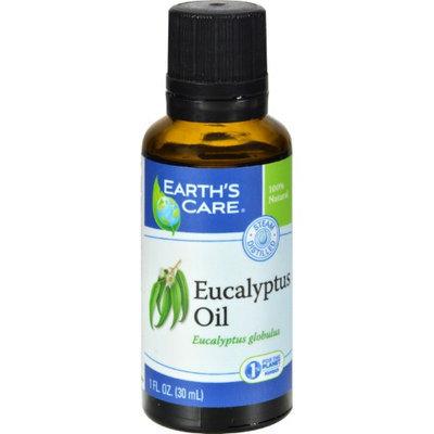 Earth's Care - 100 Pure Eucalyptus Oil - 1 oz.