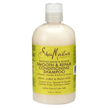 SheaMoisture Tahitian Noni & Monoi Smooth & Repair Conditioning Shampoo