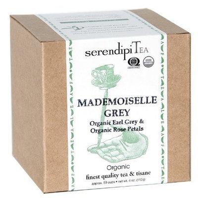 SerendipiTea Mademoiselle Grey, Organic Earl Grey & Rose Petal Tea, 4-Ounce Boxes (Pack of 2)