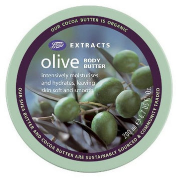 Boots Extracts Olive Body Butter - 6.7 oz