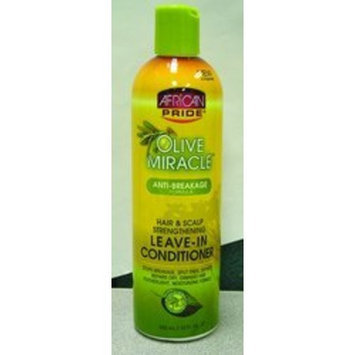African Pride Olive Miracle Leave in Conditioner 12 Oz