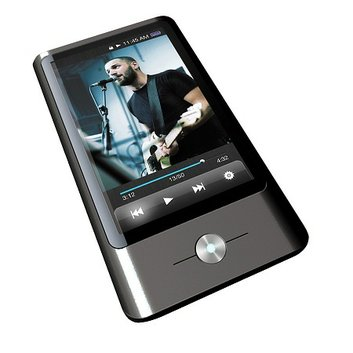 Coby Electronics 3-inch 8GB Touchscreen Video/MP3 Player with FM Tuner